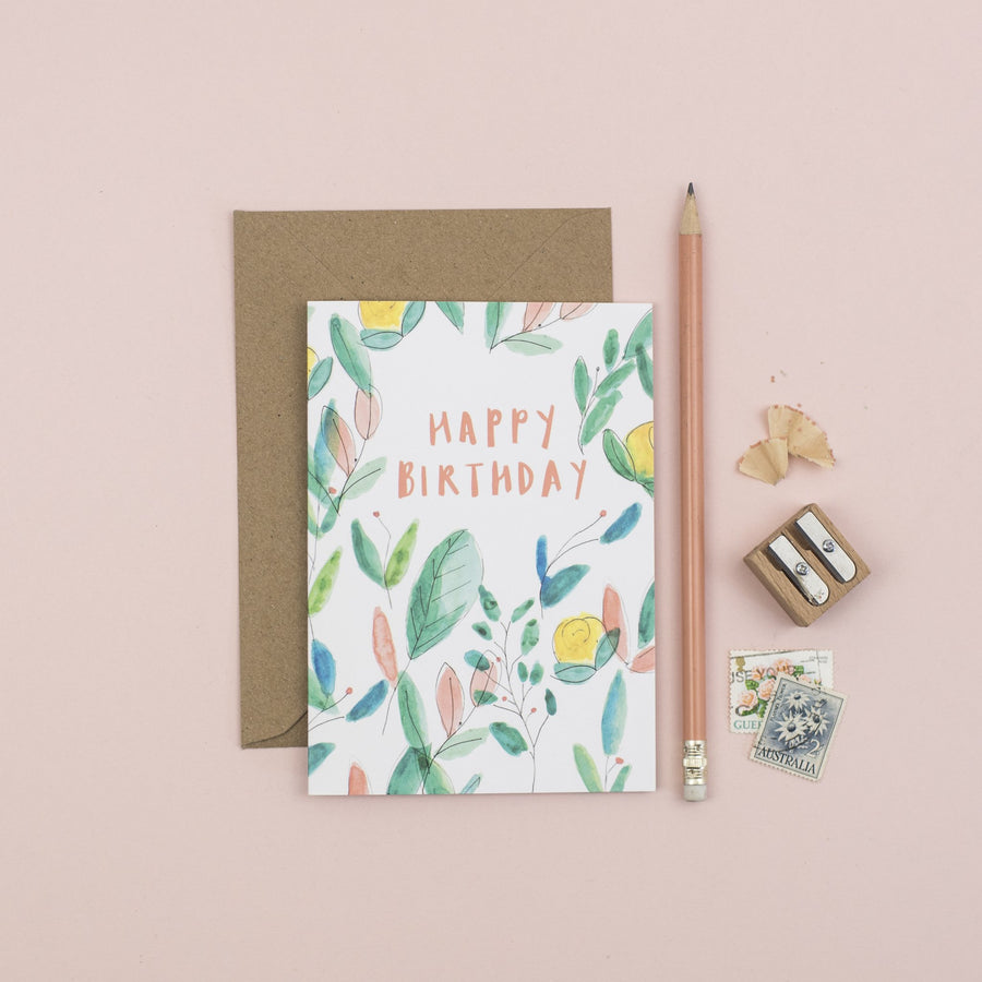Sebandroo - Happy Birthday Card