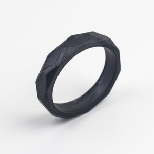 Teething Bangle - Metallic Black - Sebandroo