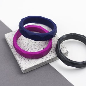 Teething Bangle - Magenta - Sebandroo