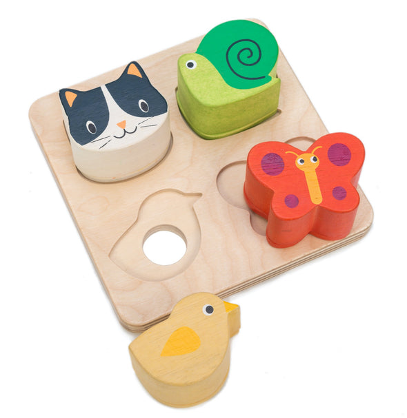 Animal Touch Sensory Tray