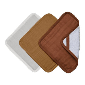 Fabelab Washcloth 3 Pack - Wood