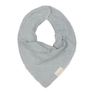 Fabelab Bandana Bib in foggy blue