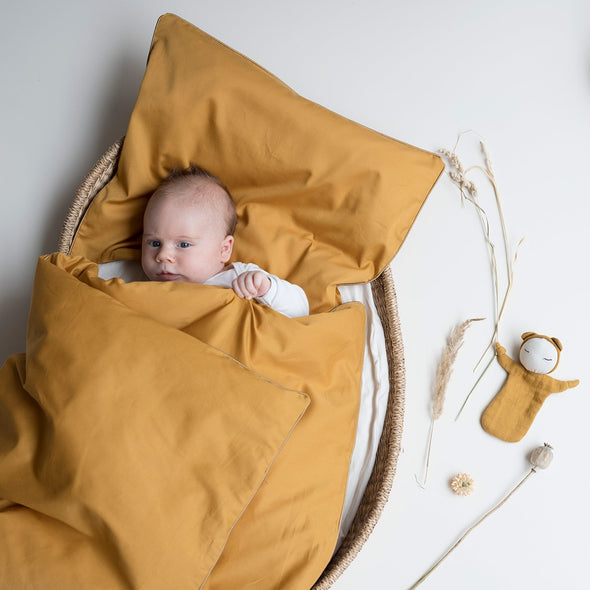 Scandi Cuddle Doll in Mustard