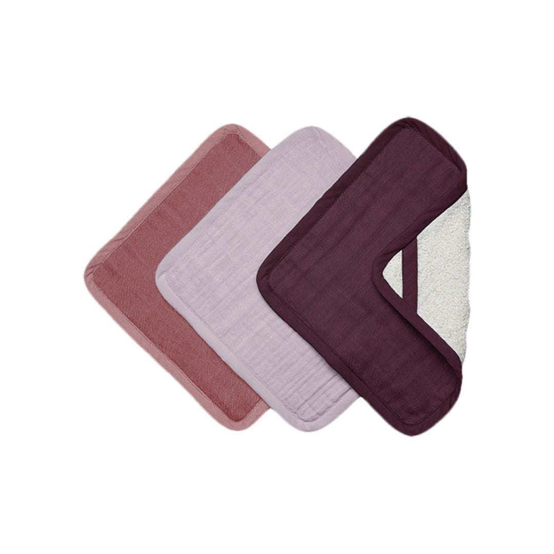 Fabelab Washcloths berry