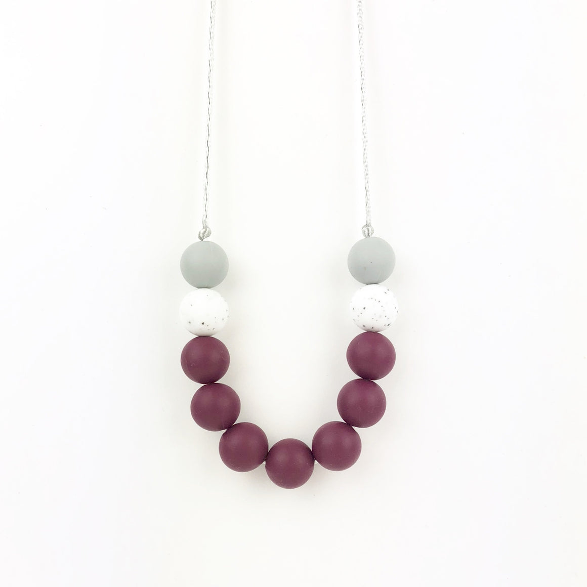 Sydney Wine Teething Necklace - Sebandroo