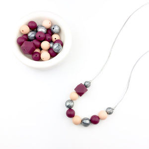Mulberry Teething Necklace - Sebandroo