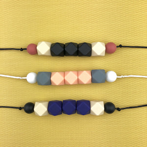 Seb&Roo - Midnight Teething Necklace