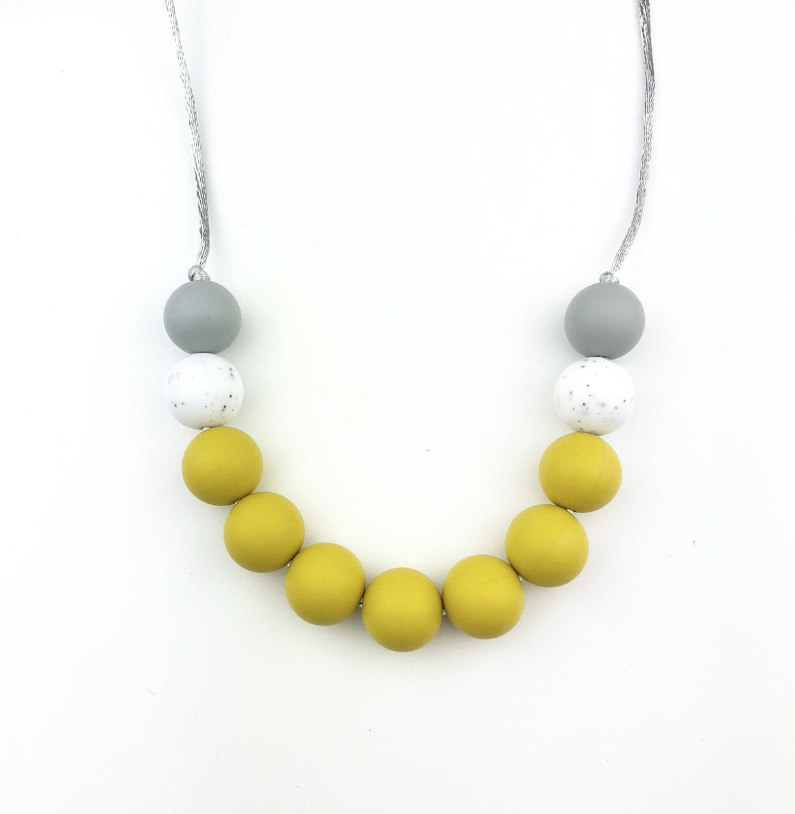 Sydney Mustard Teething Necklace - Sebandroo