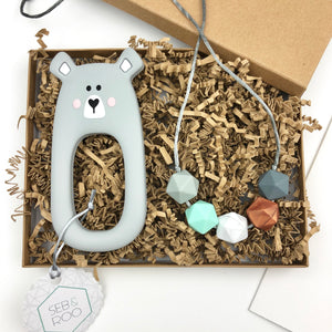 Mother and Baby Gift Box - Bear - Sebandroo