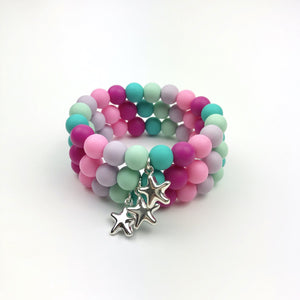 Children's Charm Beaded Bracelet
