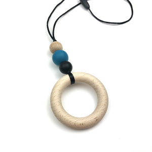Wooden Ring Teething Necklace - Sebandroo