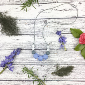 Blue Teething Necklace - Sebandroo