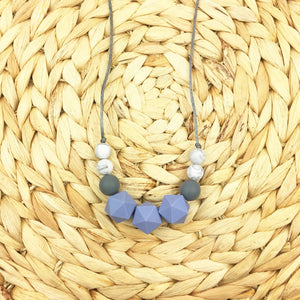 Seb&Roo - Blue Teething Necklace