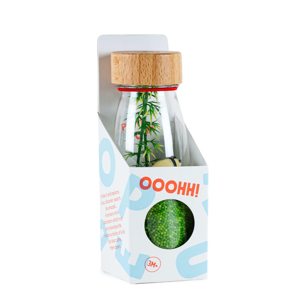 Panda Sensory Bottle in Box by Petit Boum