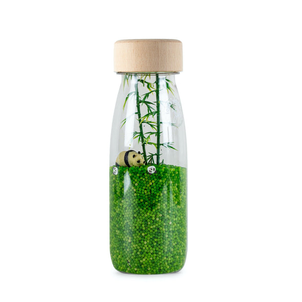 Petit Boum Panda Sensory Sound Bottle