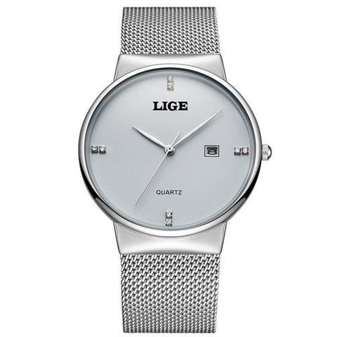 Lige 9801 Quartz Watch