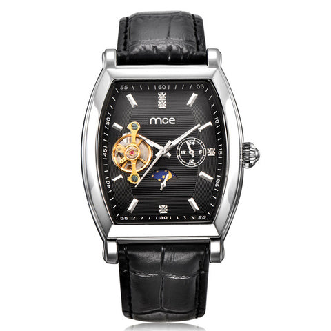 MCE Rectangular Automatic Watch