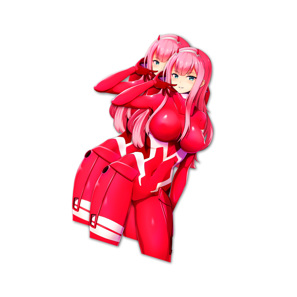 Zero Two Pilotsuit Ver. (Kiss-Cut)