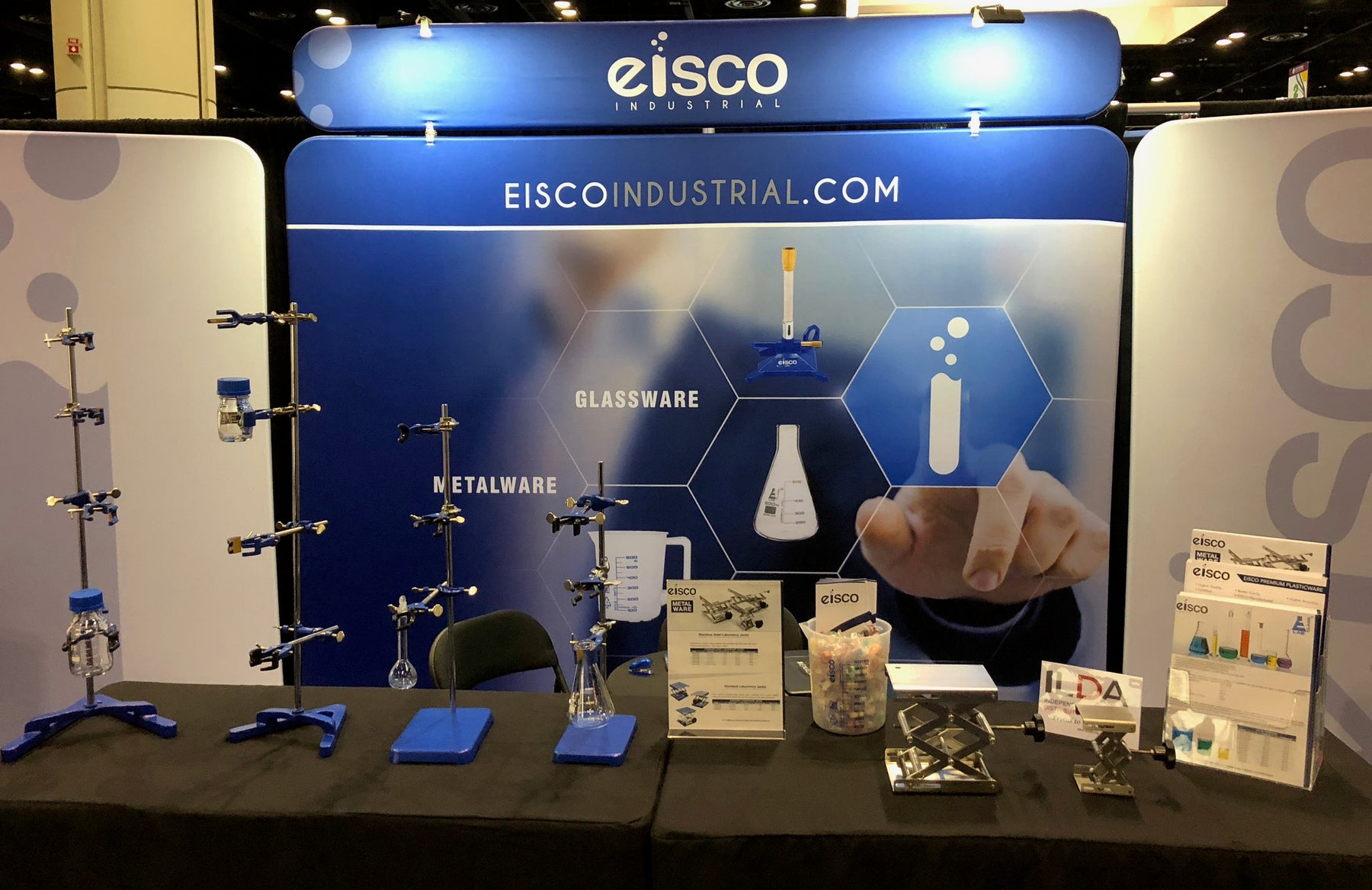 Eisco Industrial launch at PITTCON 2018