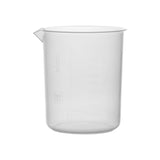 Polypropylene Beaker, 1000 ml, 20 ml Graduation, Autoclavable