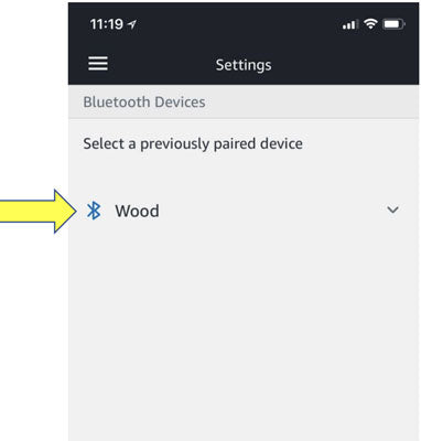 Pair with Alexa - Device shows up