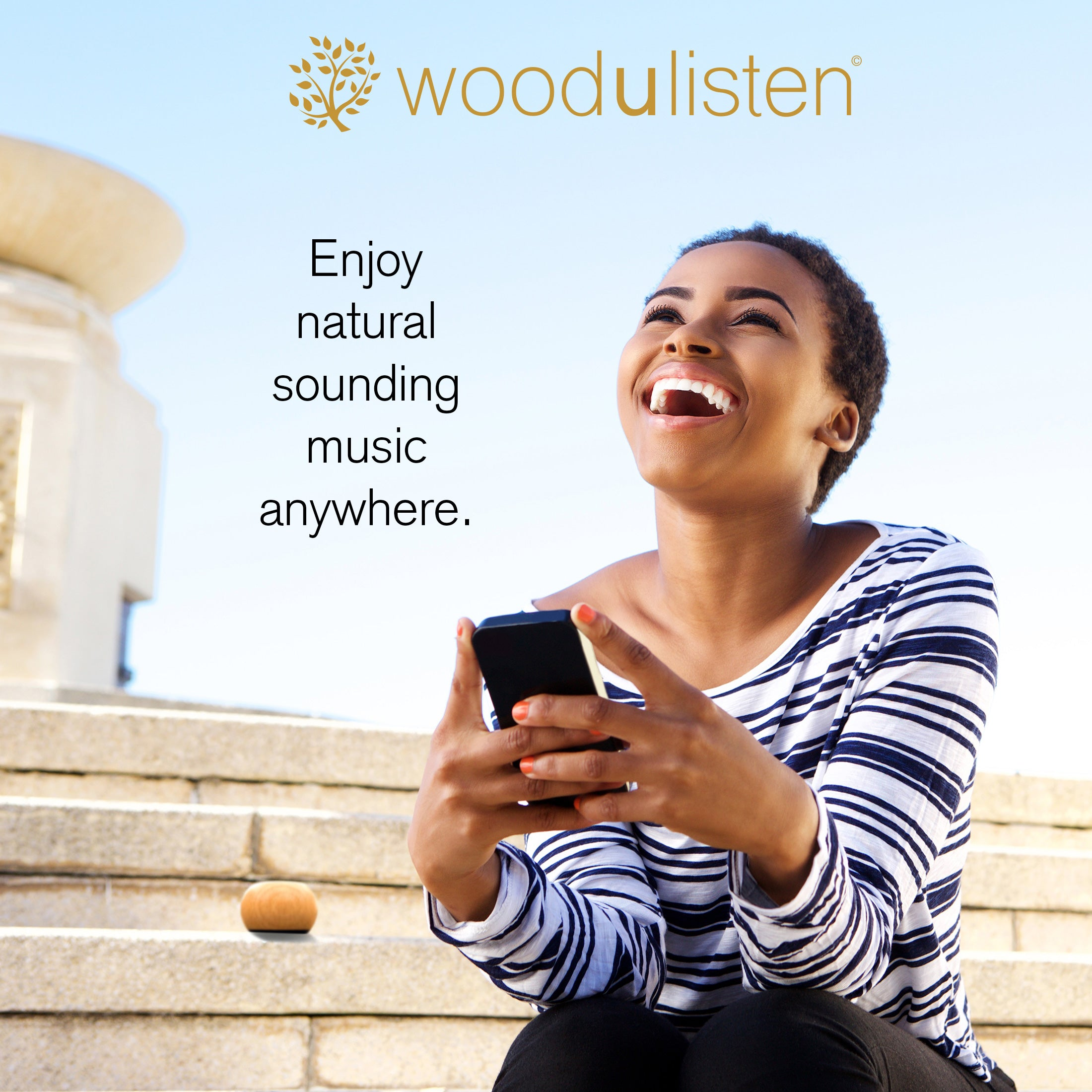 Tree and Branch woodulisten TWS Stereo Set with Charging Dock: