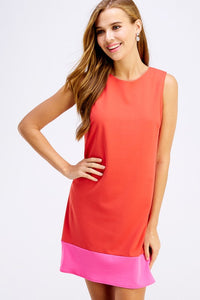 Rachel Colorblock Shift Dress