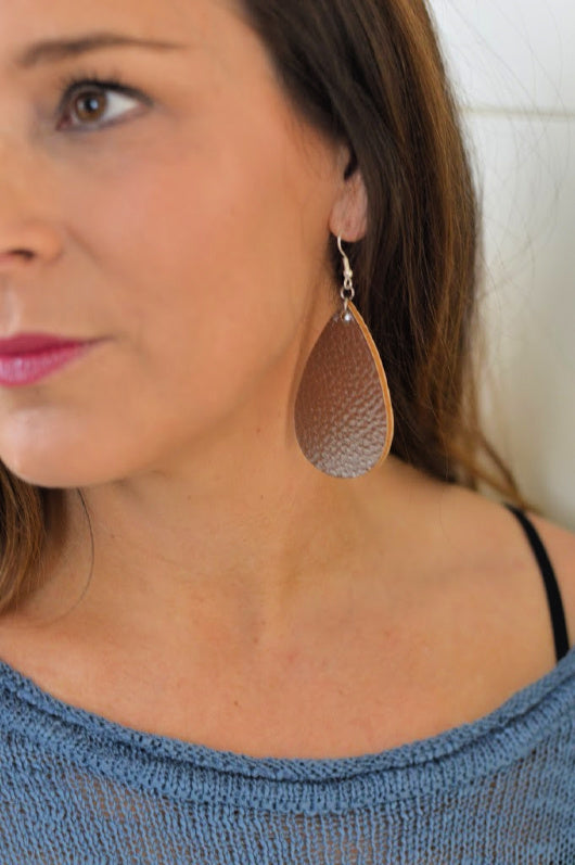 Krista Metallic Drop Earrings MULTIPLE COLORS!