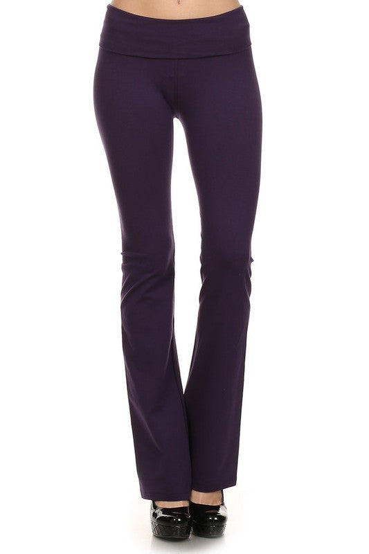 Megan Fit and Flare Everyday Pant in Navy