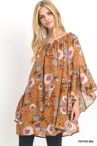 Jodilyn Floral Tunic