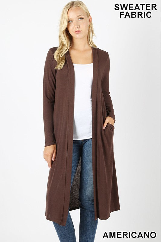 Alice Long Cardigan Sweater (multiple colors)