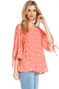 Savannah Cold Shoulder Blouse