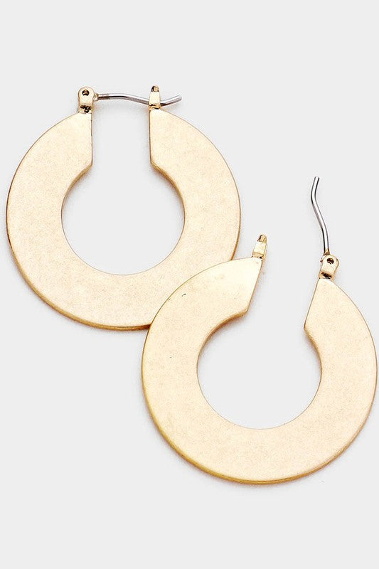 Elizabeth Hoop Earrings