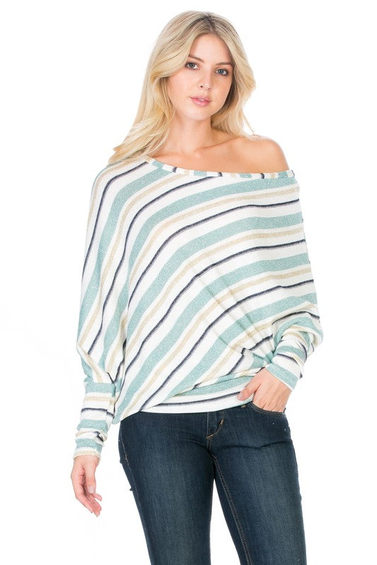 Jolene Dolman Striped Knit Tunic