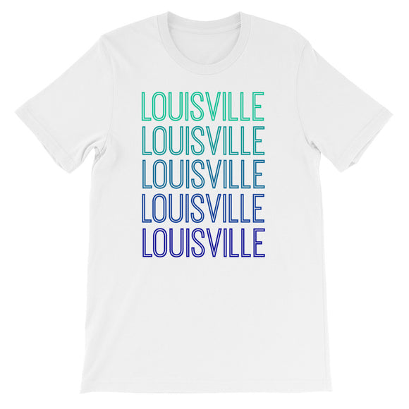 Louisville Blue Ombre - The Well Dressed Southern Mess