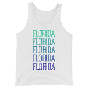 Florida Blue Ombre Tank - The Well Dressed Southern Mess