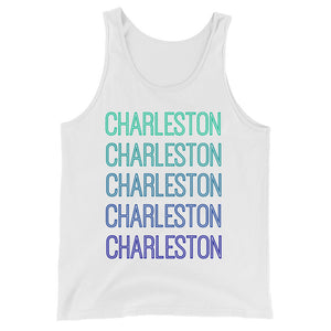 Charleston Blue Ombre Tank - The Well Dressed Southern Mess