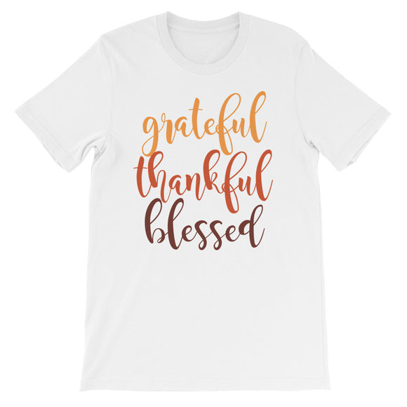 Grateful Thankful Blessed - The Well Dressed Southern Mess