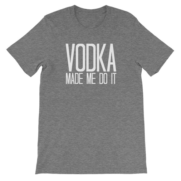 Vodka - The Well Dressed Southern Mess