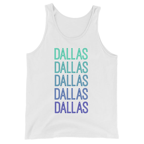 Dallas Blue Ombre Tank - The Well Dressed Southern Mess