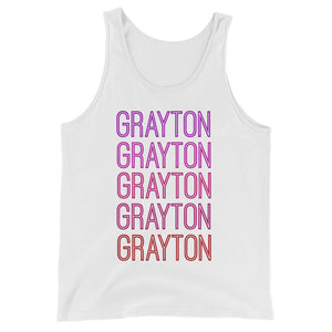 Grayton Pink Ombre Tank - The Well Dressed Southern Mess