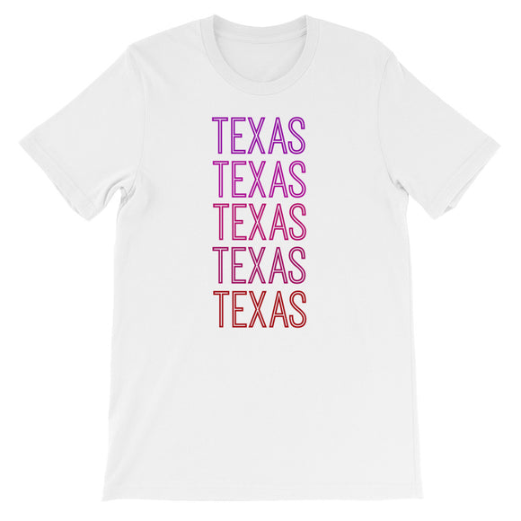 Texas Pink Ombre - The Well Dressed Southern Mess