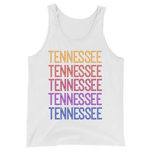 Tennessee Ombre Tank - The Well Dressed Southern Mess