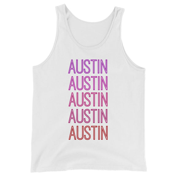 Austin Pink Ombre Tank - The Well Dressed Southern Mess