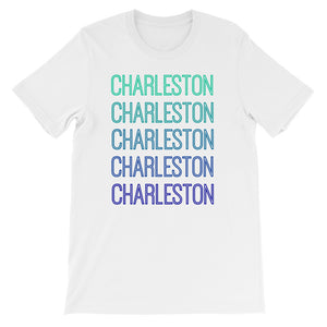 Charleston Blue Ombre - The Well Dressed Southern Mess