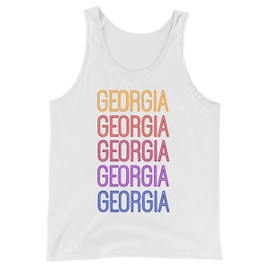 Georgia Ombre Tank - The Well Dressed Southern Mess