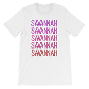 Savannah Pink Ombre - The Well Dressed Southern Mess