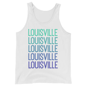 Louisville Blue Ombre Tank - The Well Dressed Southern Mess