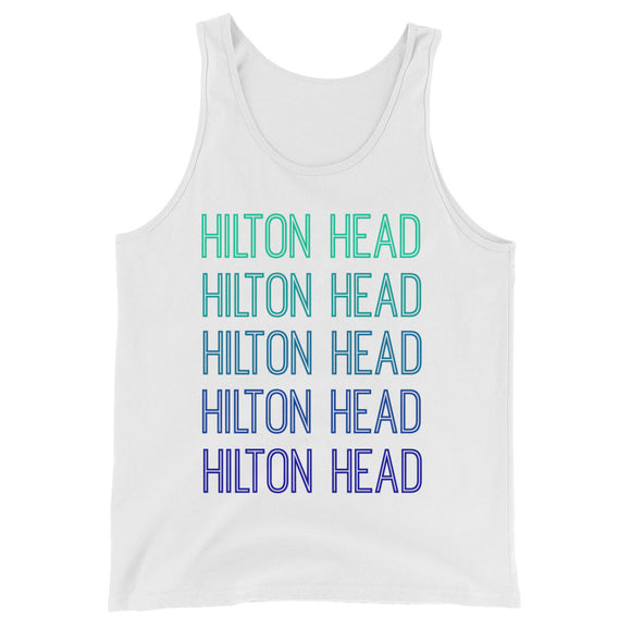 Hilton Head Blue Ombre Tank - The Well Dressed Southern Mess