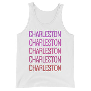 Charleston Pink Ombre Tank - The Well Dressed Southern Mess